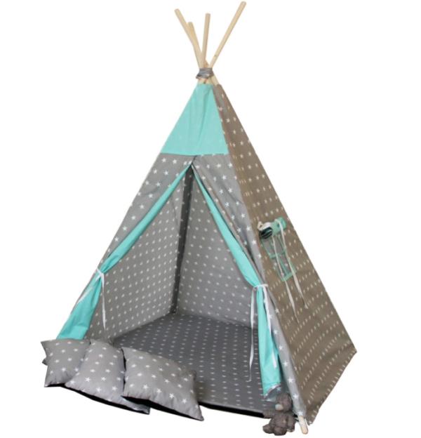 Namiot TIPI - Gwiazdka mięta