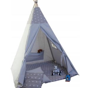 Namiot TIPI - Gwiazda szary