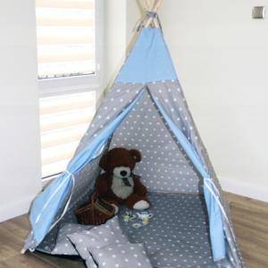 Namiot TIPI - Gwiazda błękit