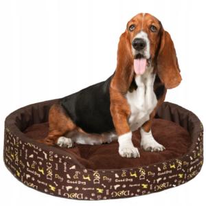 LEGOWISKO DLA PSA KOTA POSŁANIE PODUSZKA 70x60 cm Dog żółty
