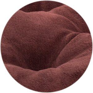 Poduszka do legowiska dla psa 63×50 cm - brązowa